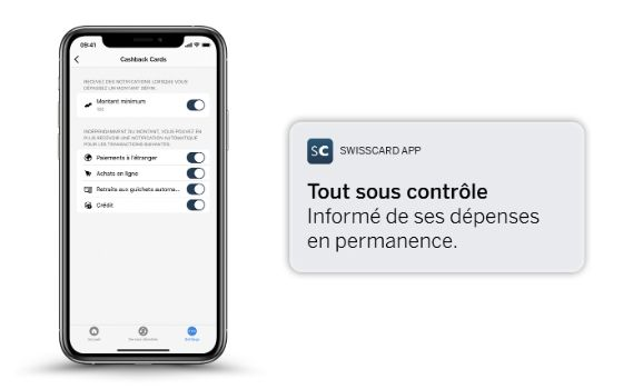 swisscard-app notification
